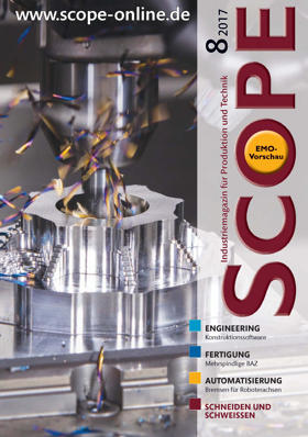 SCOPE Ausgabe August 2017