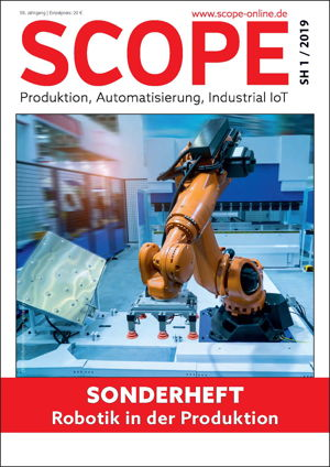 SCOPE Sonderheft: Robotik in der Produktion