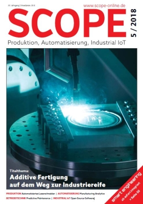 SCOPE Industriemagazin für Produktion und Technik