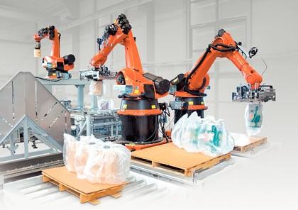 Roboter in der converting industrie mehr leistung for Koch roboter