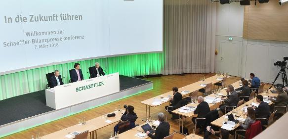 Schaeffler Bilanzpressekonferenz