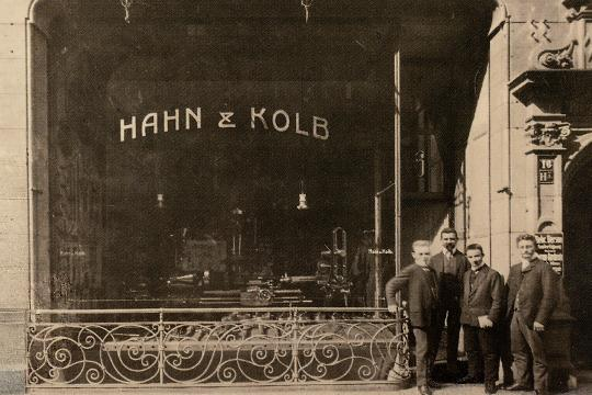 Gründung Hahn+Kolb 1898
