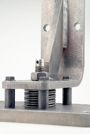 Schraubentellerfeder: Lagerung mit Schraubentellerfedern