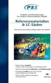 GPC/SEC-Katalog: GPC/SEC-Säulen  und polymere Referenzmaterialien