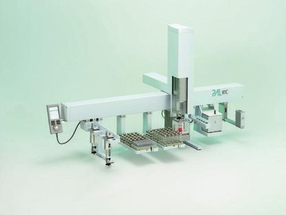 Probenvorbereitungssystem: Roboter-Plattform