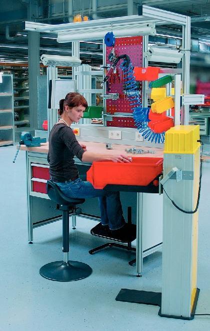 Montagearbeitsplatz: Arbeitsplätze  online konfigurieren