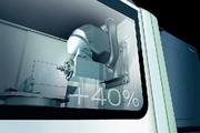 Drehmaschinen: Schaufenstergröße haben