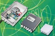 Netzanschlussboxen: Sammeln und Verteilen