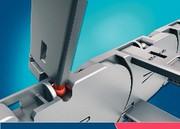 Energieführung Uniflex 1455: Leichter, leiser, leistungsfähiger