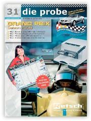 """Kundenmagazin die probe: """"die probe"""" mit Posterkalender 2008"""
