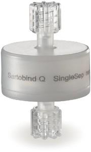 Membranadsorber-Kapsule Sartobind Q SingleSep nano: Membranadsorber-Kapsule mit 1 ml Bettvolumen