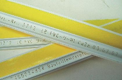 Lasermarkierung von Kunststoffen: Laserbeschriftung in der Extrusion