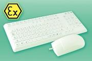 Tastatur und Maus mit EX-Schutz: Ein gutes Team