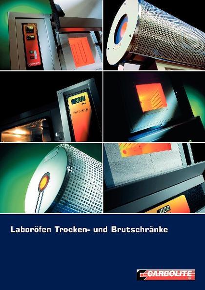 """Katalog """"Laboröfen, Trocken- und Brutschränke"""": Brandneuer Katalog"""
