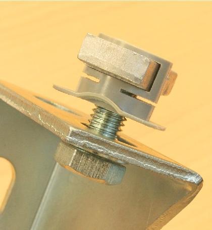 Gewindeplatte mit Fixierhilfe: Eine pfiffige Gewindeplatte