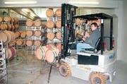 Gas-Gabelstapler: Stapelt gute Tropfen