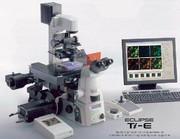 Mikroskopie und Bildauswertung: Inverse Forschungsmikroskopie ECLIPSE Ti