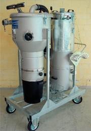 Hobbock-Druckluftsauger: Hobbock-Druckluftsauger  mit Scheibenwischer