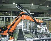 Universalmodul Triflex RS: Eng am Roboterarm