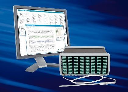 Temperatur-Messgerät TEMPoint DT9872: Komplettpaket zur Temperaturmessung