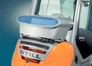 Dieselstapler RX 70 Hybrid: Ein Schritt voraus