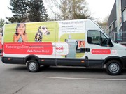Märkte + Unternehmen: Großformat-Roadshow mit Océ Plotter-Mobil