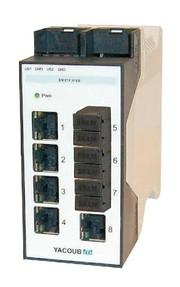 Modularer Switch: Für unterschiedliche  optische Fasern