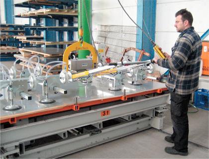 Vakuum-Handhabegerät: Saubere Lösung