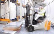 Pallet-Shuttle für Milchpulver-Lager: Die Milch kommt im Big-Bag