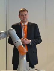 Fachmesse Automatica: Kuka präsentiert Roboter für Industrie 4.0