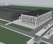 Produktionsstätte für Elektronikkomponenten