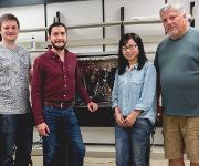 Gruppenbild: Bochumer Forscherteam