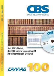Chromatographie: Jubiläumsausgabe CBS 100