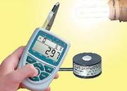 Beleuchtungsstärke-Messgerät Almemo 2490: Beleuchtungsstärkemessung per Hand