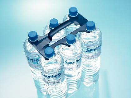 Bottle Carrier: Pfiffige  Flaschen-Träger