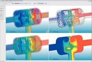 Märkte + Unternehmen: Einfache Strömungs- und Wärmeübertragungs- Simulation