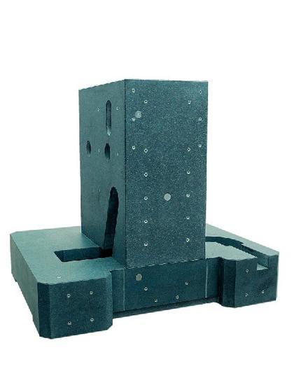 Maschinengrundbetten: Ein Bett aus Granit