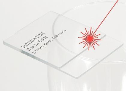 Lasermarkierbare Masterbatche: Transparente Kunststoffe mit dem Laser markieren