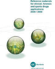 """Katalog """"Reference substances for clinical, forensics and sports drugs applications"""": Neue Referenzsubstanzen"""