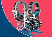 Energieführungssysteme: Dransetzten,  festschrauben, fertig