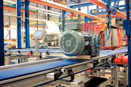 Antriebstechnik, Kettenfördersystem: Gemeinsam  was Bewegen