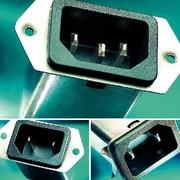 IEC-Gerätestecker: Schni-Schna-Schnappi