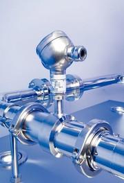 Rohr-In-Line-Druckmittler 981.51: Mit Aseptik-Prozessanschlüssen