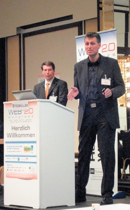 """Web 2.0-Kongress (März 2009, München): """"Geld verdienen  im Social Web"""""""