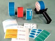 Sicherheitssiegelbänder: Sie kleben selbst