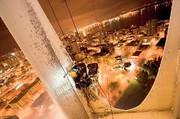 Gebäudereinigung: Fliegende Untertassen