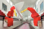 Lackierroboter IRB 5400: Flügel im Wind