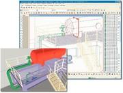 CAD-CAM-Nachrichten: 3D-Anlagenplanung mit Datenbank-Unterstützung