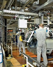 Automotive: Materialfluss  aus dem Baukasten