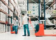 Material handling: Fahrzeug-Premiere
